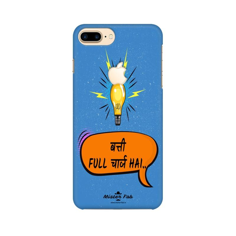 Batti Full Charge Hai Apple iPhone 7 Plus with Apple Cut Mobile Cover - Mister Fab