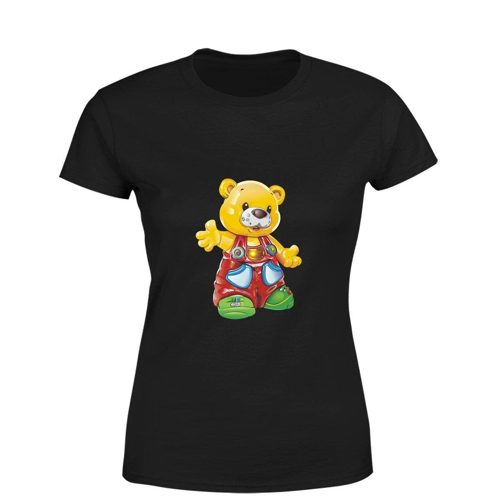 Mister Fab Bear Women Round Neck printed T-Shirts - Mister Fab