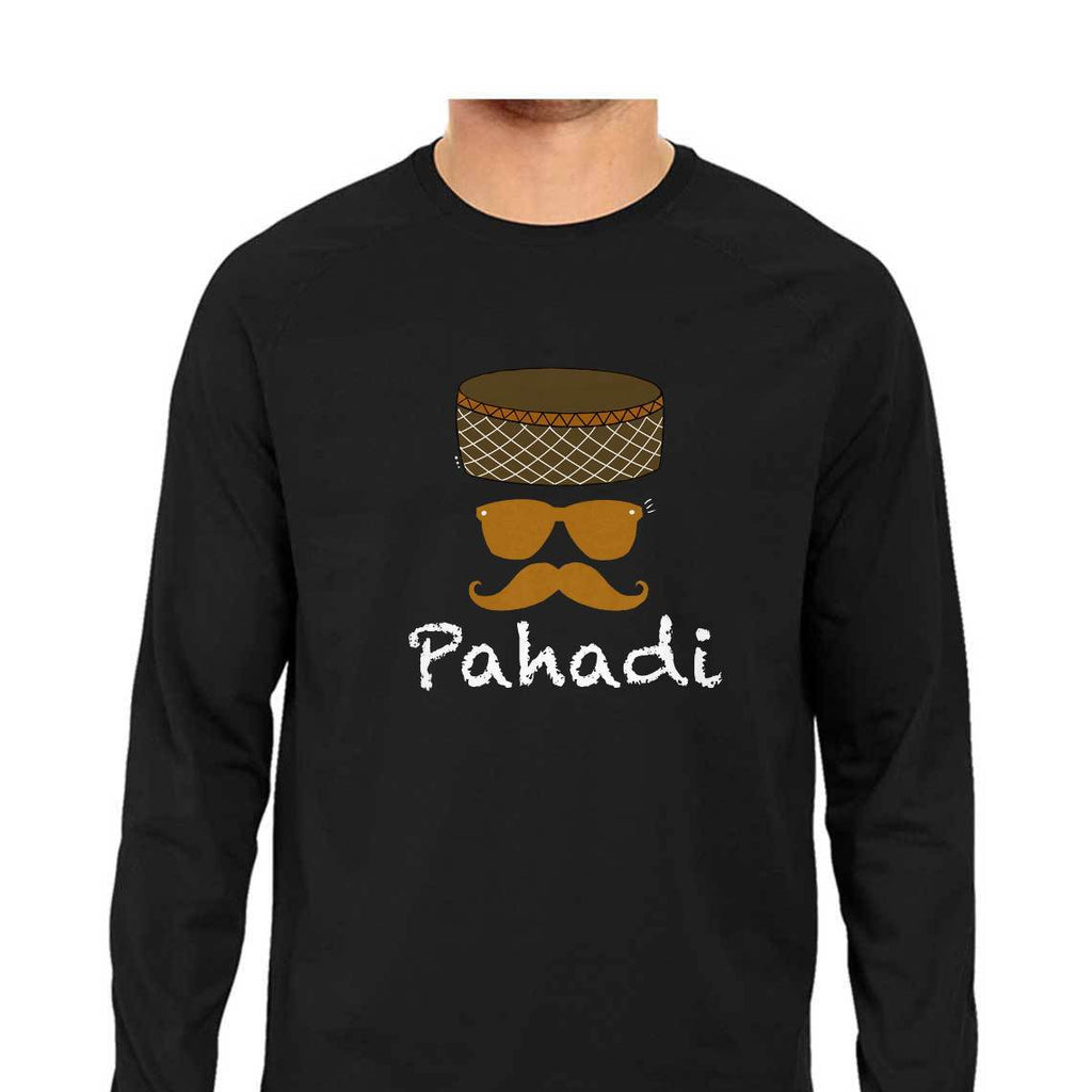 Pahadi Round Neck Long Sleeve T-Shirts - Mister Fab