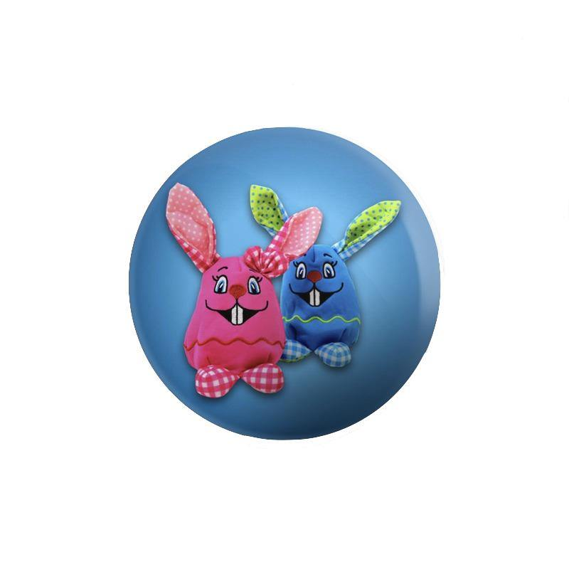 Beautiful Bunny Button Badge - Mister Fab