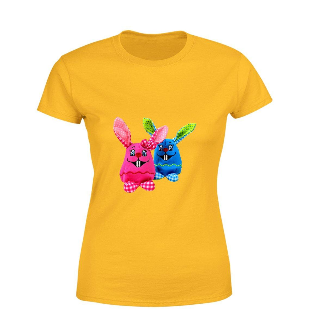 Mister Fab Easter Bunny Women Round Neck printed T-Shirts - Mister Fab