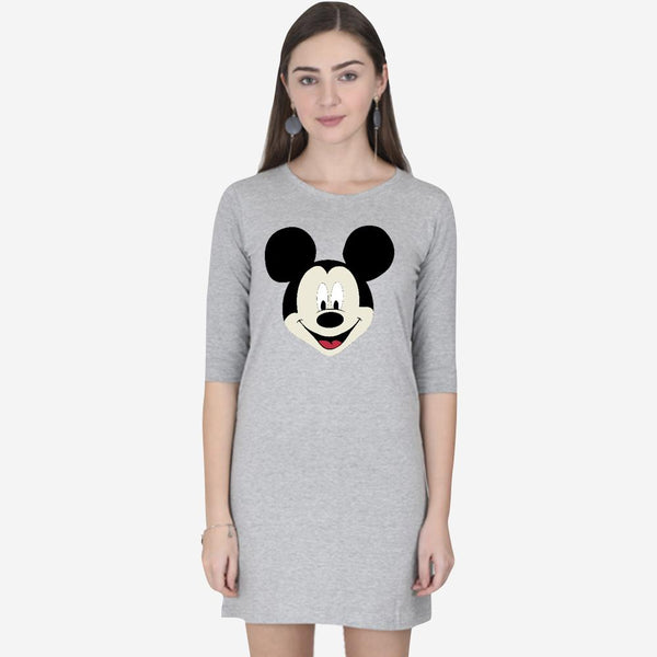 Mickey mouse T-shirt Dress - Mister Fab