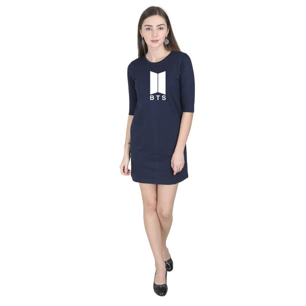 BTS T-Shirt Dress - Mister Fab