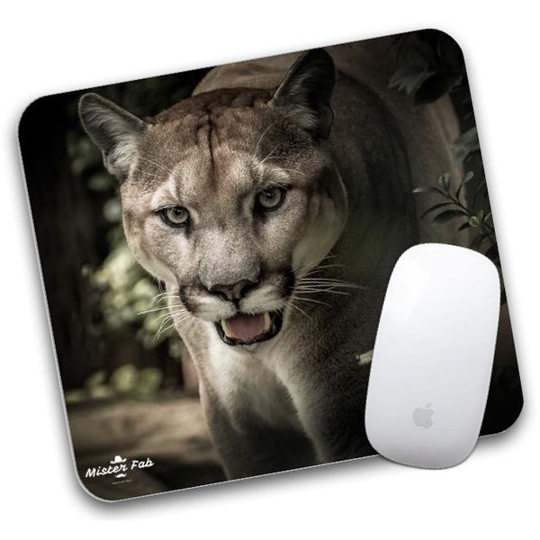 Lion Mouse Pad by Mister Fab - Mister Fab