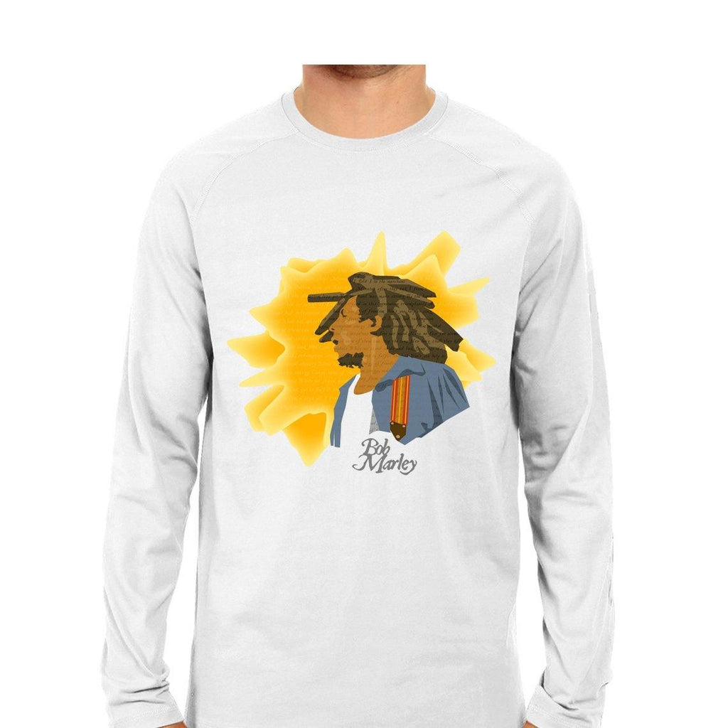Bob Marley Men Round Neck Long Sleeve printed T-Shirts - Mister Fab
