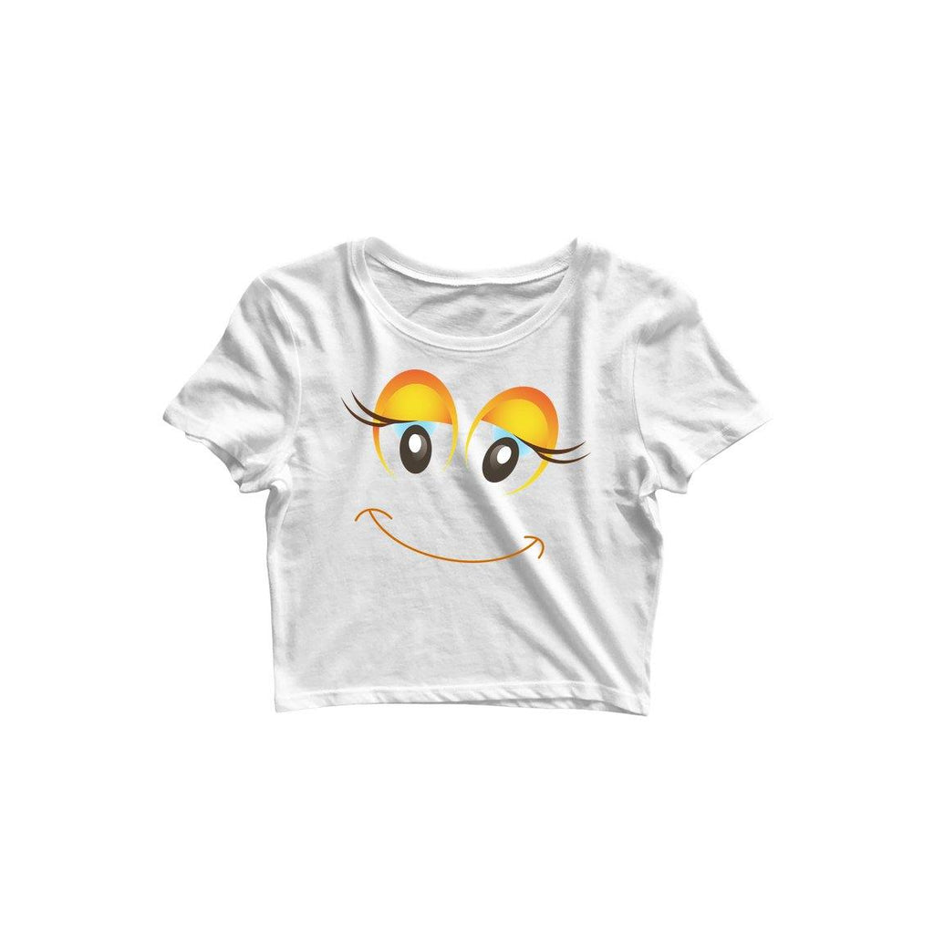 Happy Women Crop Top by Mister Fab - Mister Fab