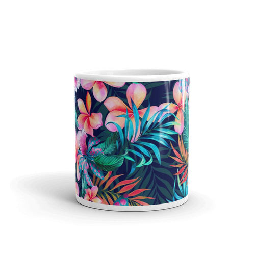 Floral Tea and Coffee Mug by Mister Fab - Mister Fab