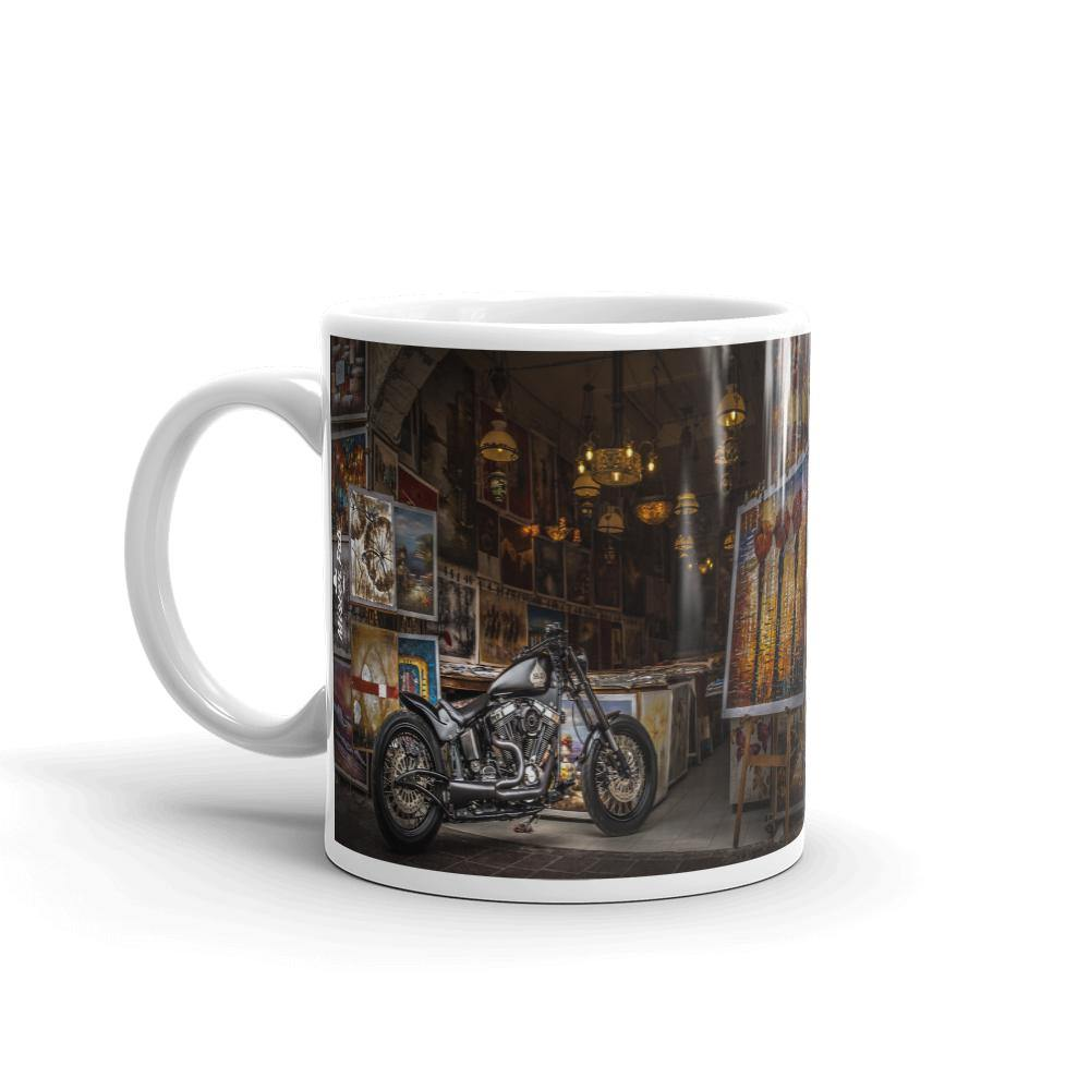 Vintage Bike Coffee Mug by Mister Fab - Mister Fab