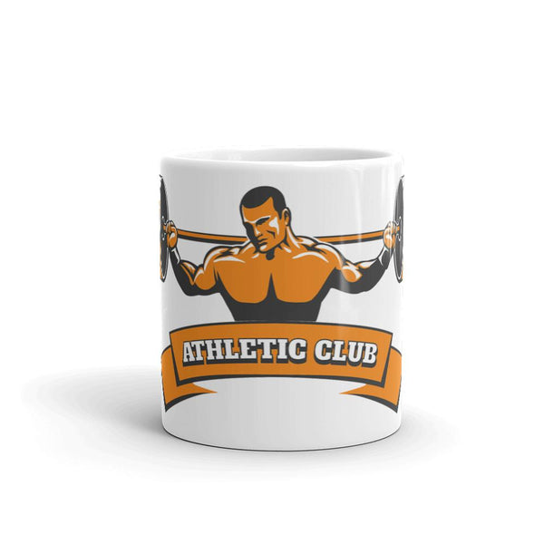 Athletic Club Tea and Coffee Mug by Mister Fab - Mister Fab