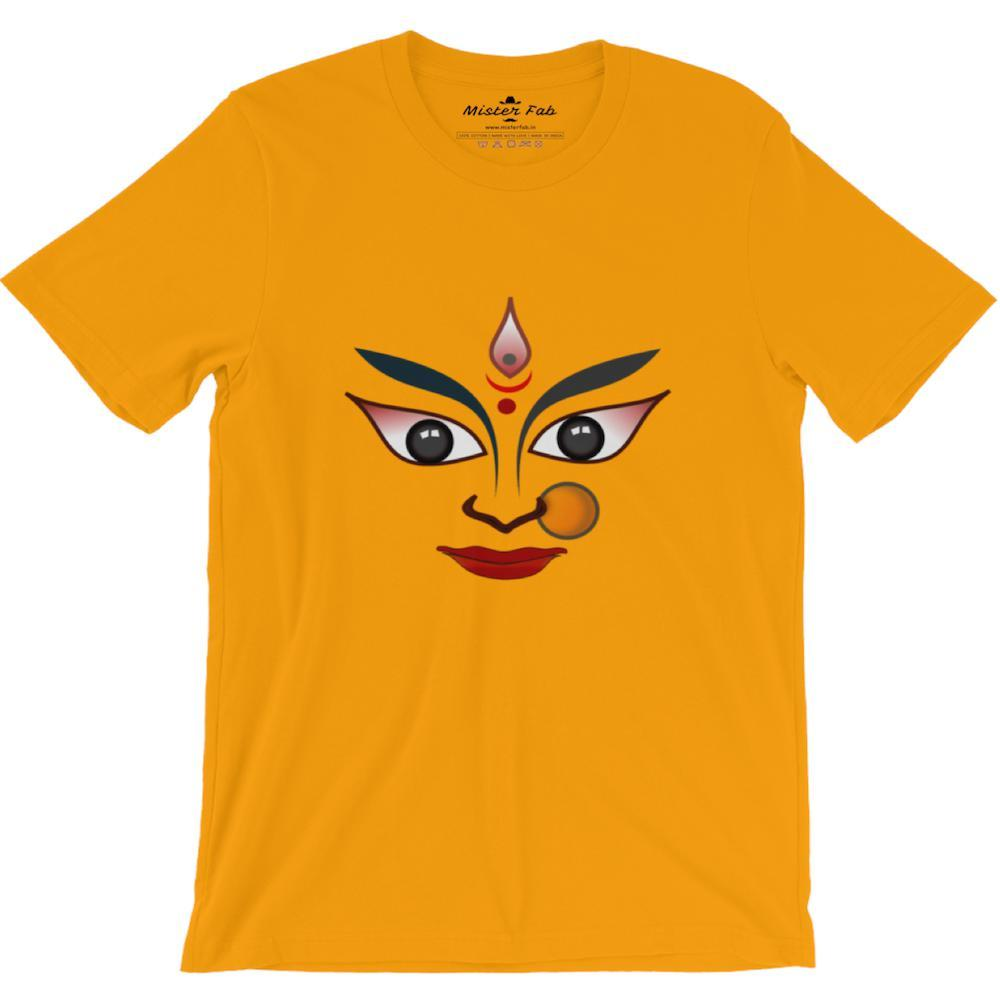 Durga maa round Neck T-Shirts - Mister Fab
