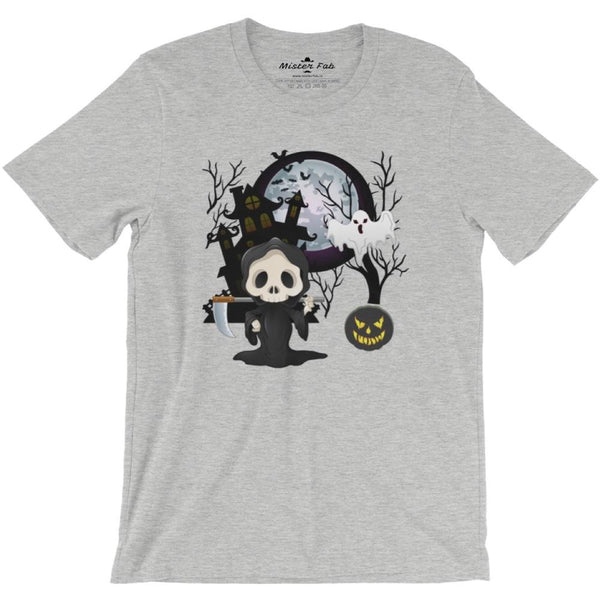 Halloween Ghost Men round Neck T-Shirts - Mister Fab