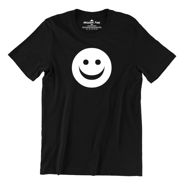 Happy Face Emoji Glow in Dark T-Shirt - Mister Fab