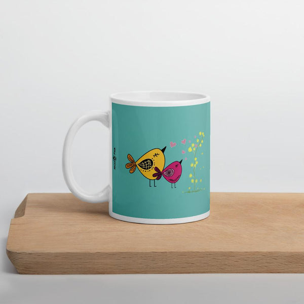 Love Bird Coffee and Tea Mug - Mister Fab