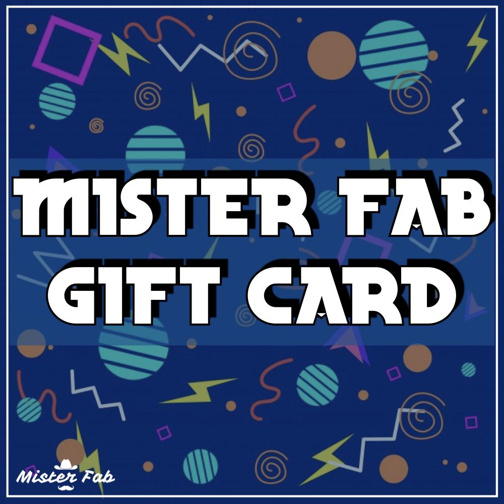 Gift Card - Mister Fab