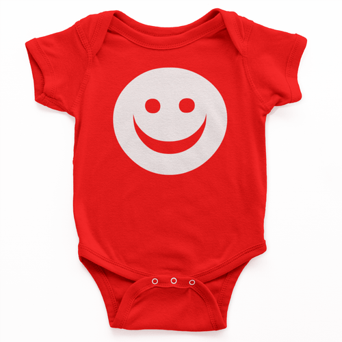 Happy Face Emoji Kids Romper - Mister Fab