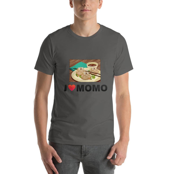 Mister Fab I Love Momos Men Round Neck printed T-Shirts - Mister Fab