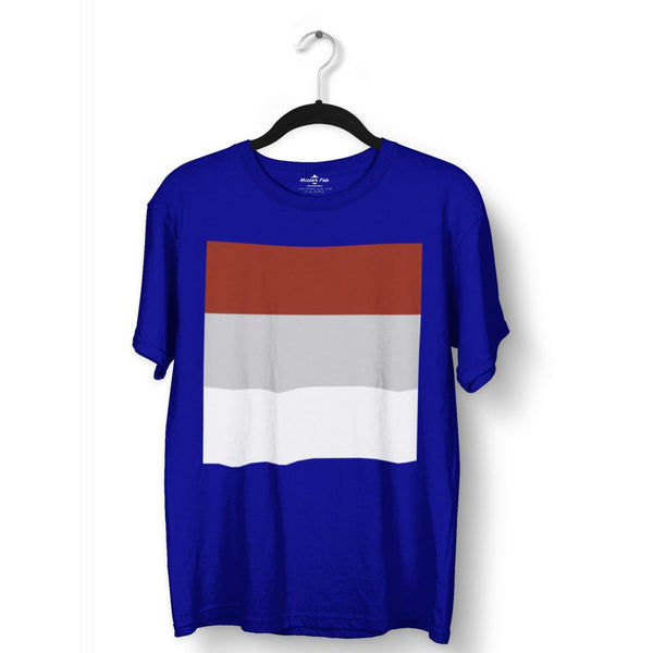 Tri Colour Block T-Shirts - Mister Fab