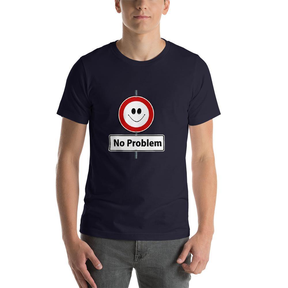 Mister Fab No Problem Men Round Neck printed T-Shirts - Mister Fab
