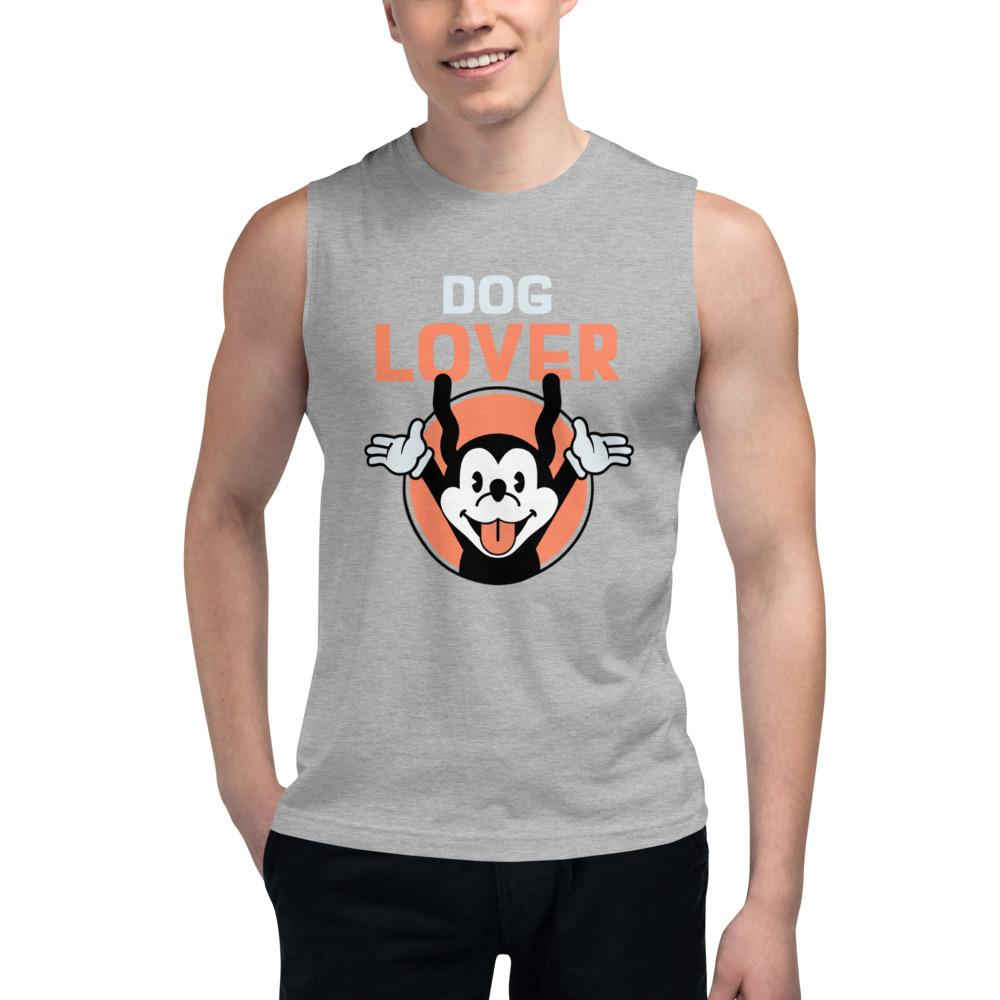 Dog Lover Gym Vest - Mister Fab