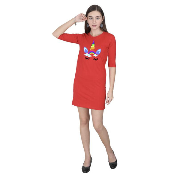 Unicorn T-shirt Dress - Mister Fab