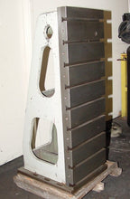 Load image into Gallery viewer, 56'' Height 20'' Width Cincinnati Cast Iron T-Slotted ANGLE PLATES