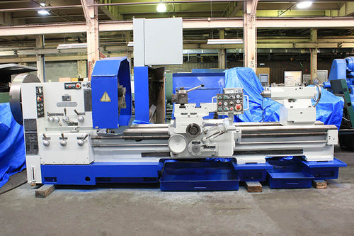 36'' Swing 80'' Centers Poreba TPK90Ax2M ENGINE LATHE, 3&4 Jaw, Aloris Toolpost, 35 HP, Inch/Metric