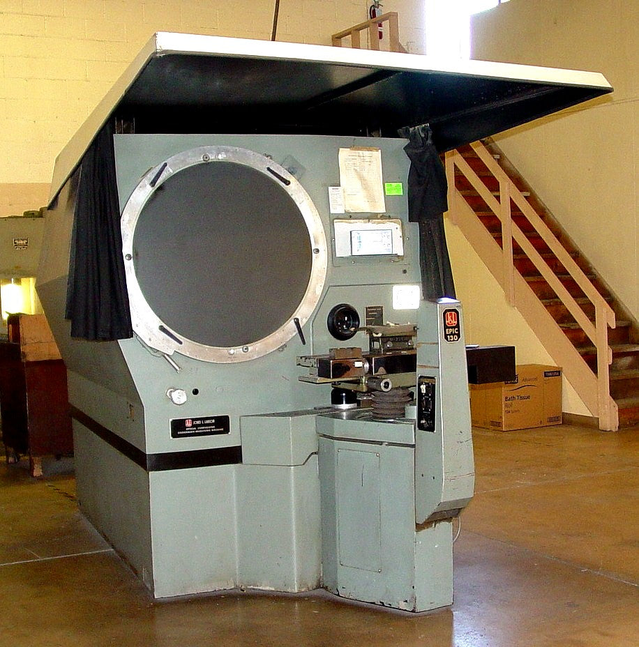 30'' Screen Jones & Lamson EPIC -130 OPTICAL COMPARATOR