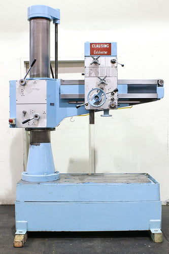Clausing-Colchester 3' RADIAL DRILL, 3' Arm Lth 9'' Col Dia