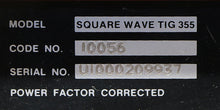 Load image into Gallery viewer, Lincoln Square Wave Tig-355 ARC WELDERS