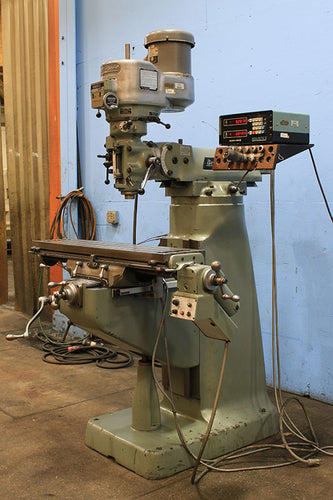 Bridgeport SERIES I VERTICAL MILL, 42'' Table 2HP Spindle