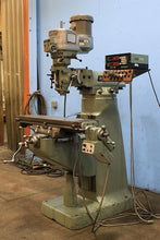 Load image into Gallery viewer, 42'' Table 2HP Spindle Bridgeport SERIES I VERTICAL MILL, Vari-Speed,Acu-rite DRO,Chrome,Bport Pwr Fd, R-8