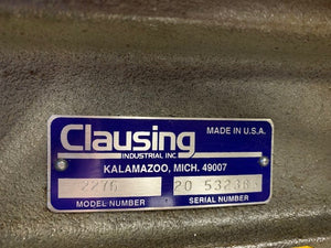 Clausing 2276 DRILL PRESS