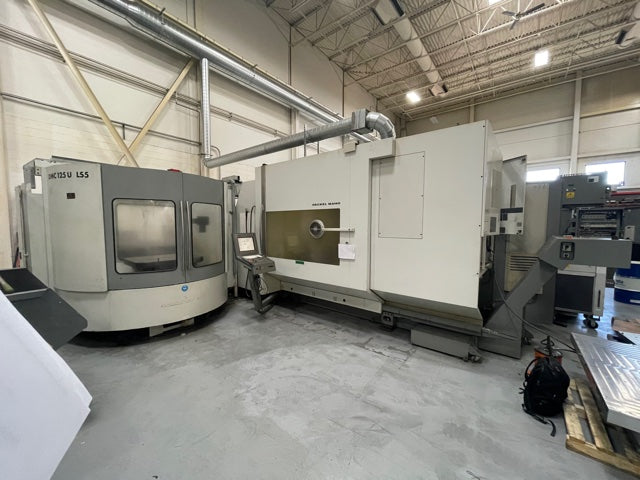 2002 Deckel Maho DMC125U LS5 5-Axis Universal Machining Center