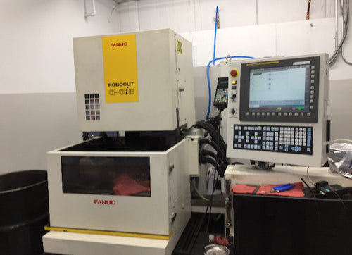2012 Fanuc Robocut Alpha 0iE Wire EDM with Rotary