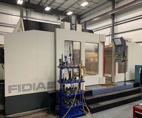 2016 FIDIA GTF3514 MA 4500 5-AXIS HIGH SPEED MILLING MACHINE