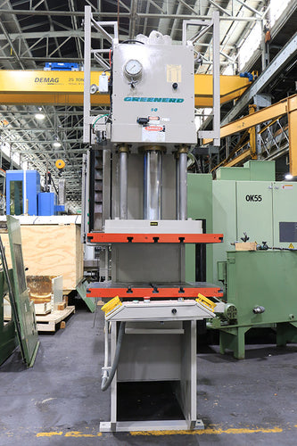 50 Ton 16'' Stroke Greenerd HCA-50-60R8 HYDRAULIC PRESS