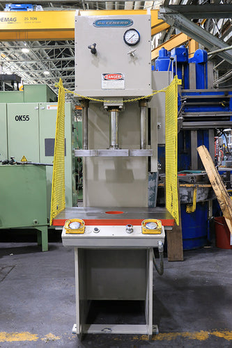 1992 20 TON GREENERD #HCA-20-13R3 Hydraulic Press, 12