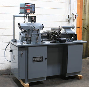 1980, Reconditioned 2019, Hardinge HLV-H Precision Engine Lathe