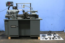 Load image into Gallery viewer, 1987 11'' Swing 18'' Centers Hardinge HLV-EM PRECISION ENGINE LATHE, Inch/Metric,Vari-Speed,Acu-Rite DRO,5C Collet,Tape