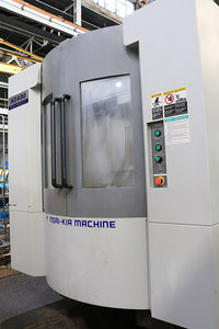 2010 24'' X Axis 22'' Y Axis Hyundai-Kia HS400 HORZ MACHINING CENTER, Fanuc 18iMB, 60 ATC,2 Pallets,Coolant Thru,29.5 HP