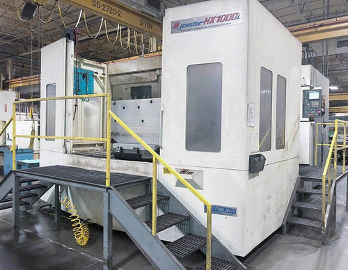 KITAMURA MYCENTER HX1000i INSTALLED: 2012 (MARCH) BUILT: 2011 FULL 4TH, TSC, PROBING, 150ATC, 5TH AXIS WIRED