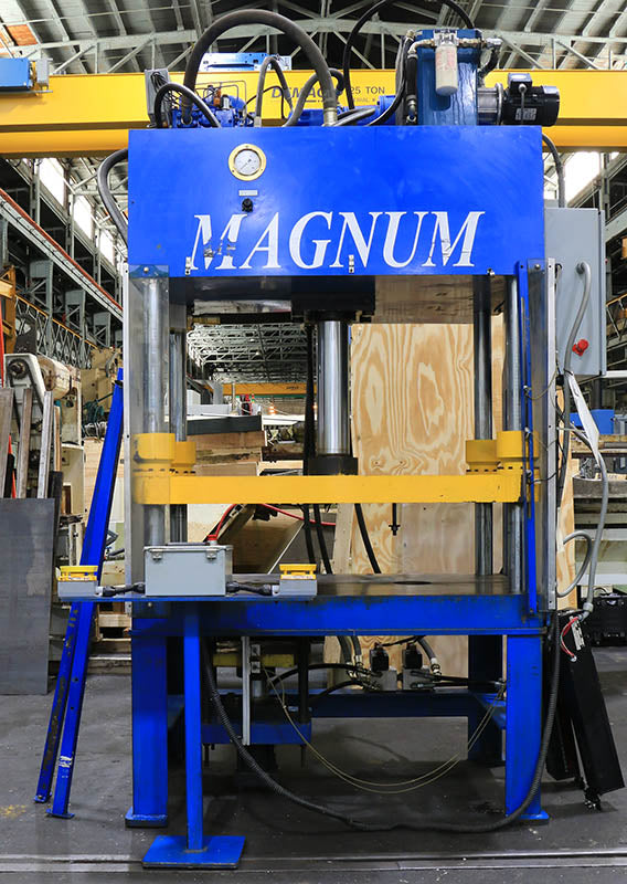 50 Ton 18'' Stroke Magnum HFP-35-48.24 HYDRAULIC PRESS, 48'' X 24'' Bed Size