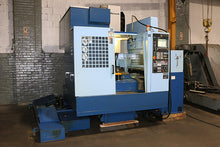 Load image into Gallery viewer, 2005 Matsuura ES-550V-PC2 Twin Pallet Vertical Machining Center