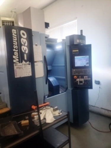 2018 MATSUURA MX-330 CNC 5-AXIS MACHINING CENTER