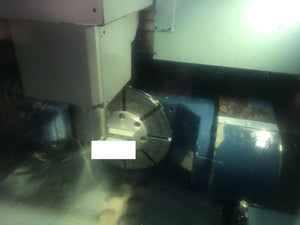 2013 Matsuura MX-520 5-Axis CNC Vertical Machining Center