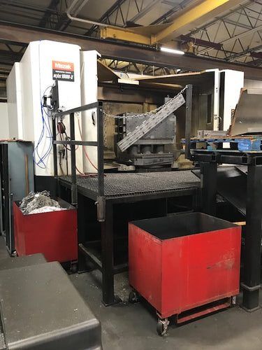 2010 Mazak Nexus 10800-II Dual Pallet Horizontal Machining Center