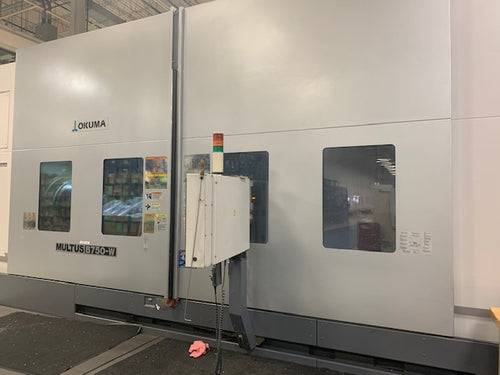 Okuma Multus B 750W/3000 CNC Muti-Tasking Turning Center