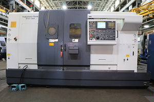 2004 Nakamura-Tome WTS-150 CNC LATHE, Fanuc 16iTB, 3 Turret, 2 Y-Axes, 2 Spindle