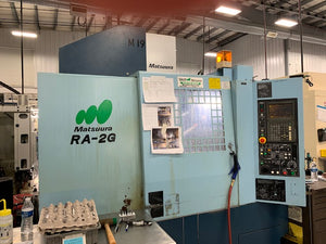 2000 Matsuura RA-2G VMC CNC Vertical Machining Center Mill w Auto Pallet Changer