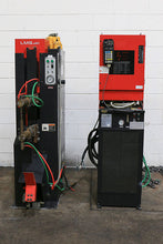 "Load image into Gallery viewer, 1998 90 KVA 13"" Throat Amada LMS350 Spot Welder"